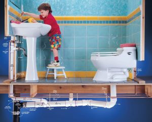 Kenapa septic tank penuh air