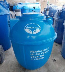 Cara pemasangan bio septic tank