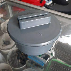 Membuat tutup clean out septic tank