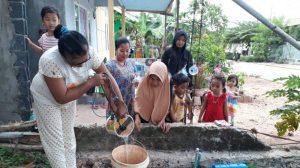 Cara mengatasi air sumur konvensional kering
